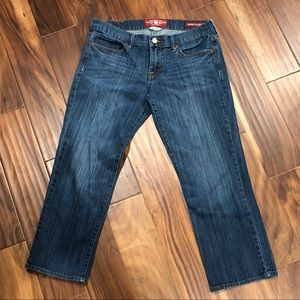 LUCKY BRAND Mid Rise Sweet n Crop Jeans